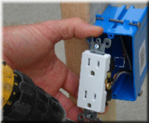 adding electric outlet