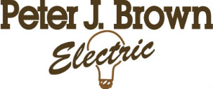 Peter J Brown Electric logo